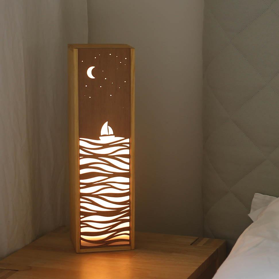 Leuchte Leuchtkasten Design Grafik meer urlaub