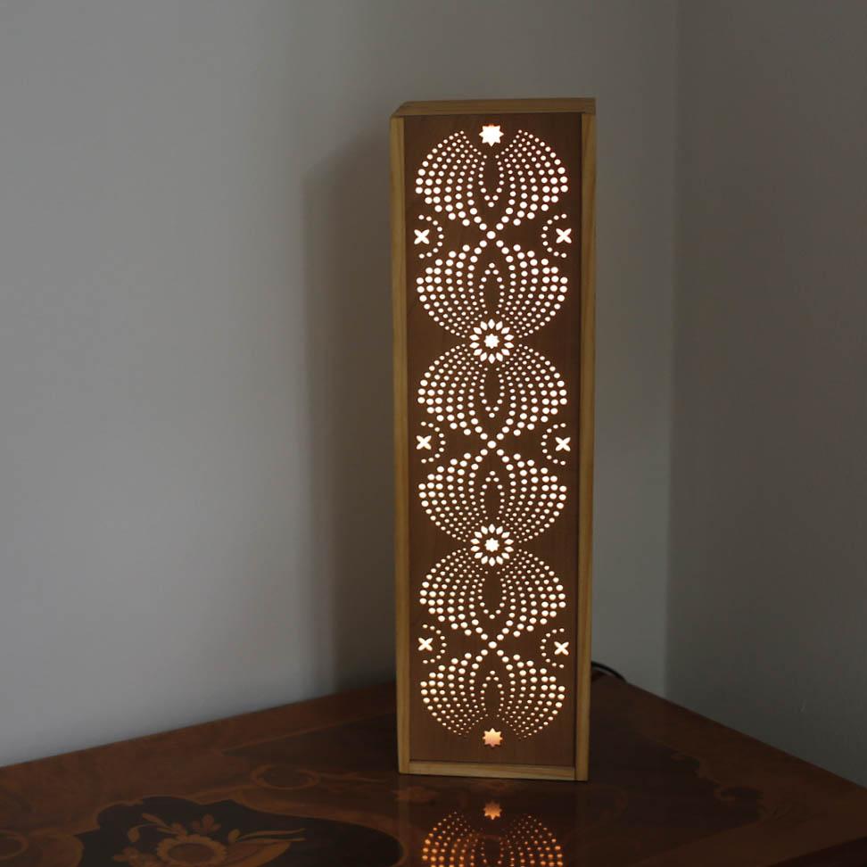 Leuchte Leuchtkasten Design Grafik orientalisch