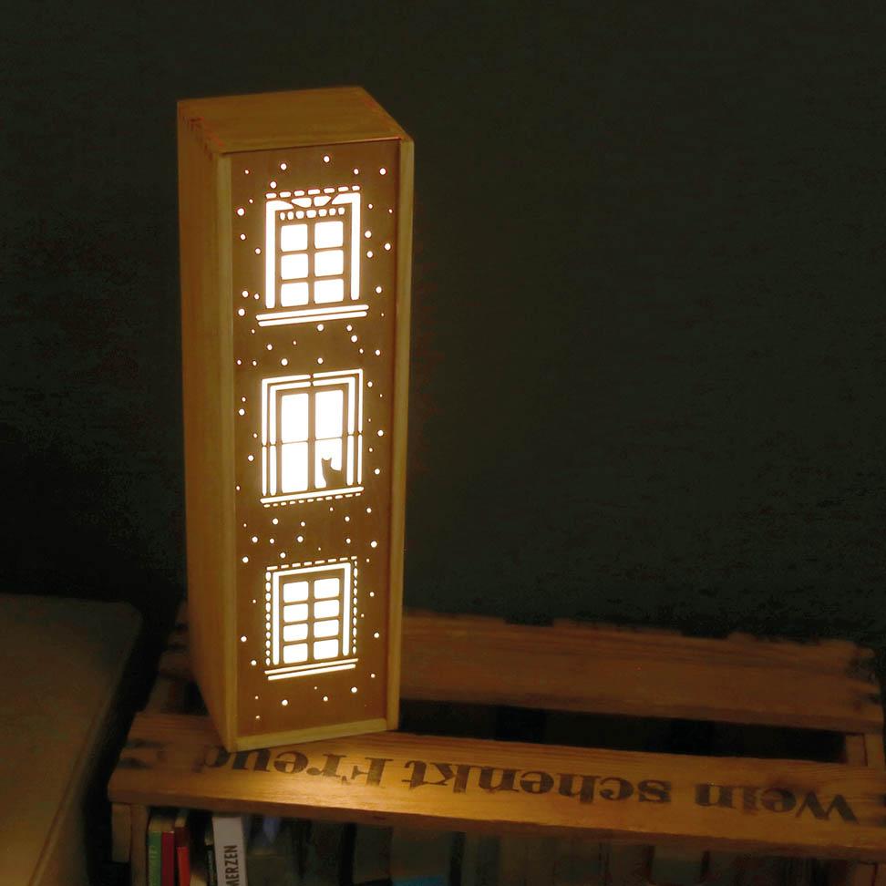 Leuchte Leuchtkasten Design Grafik katze kinder