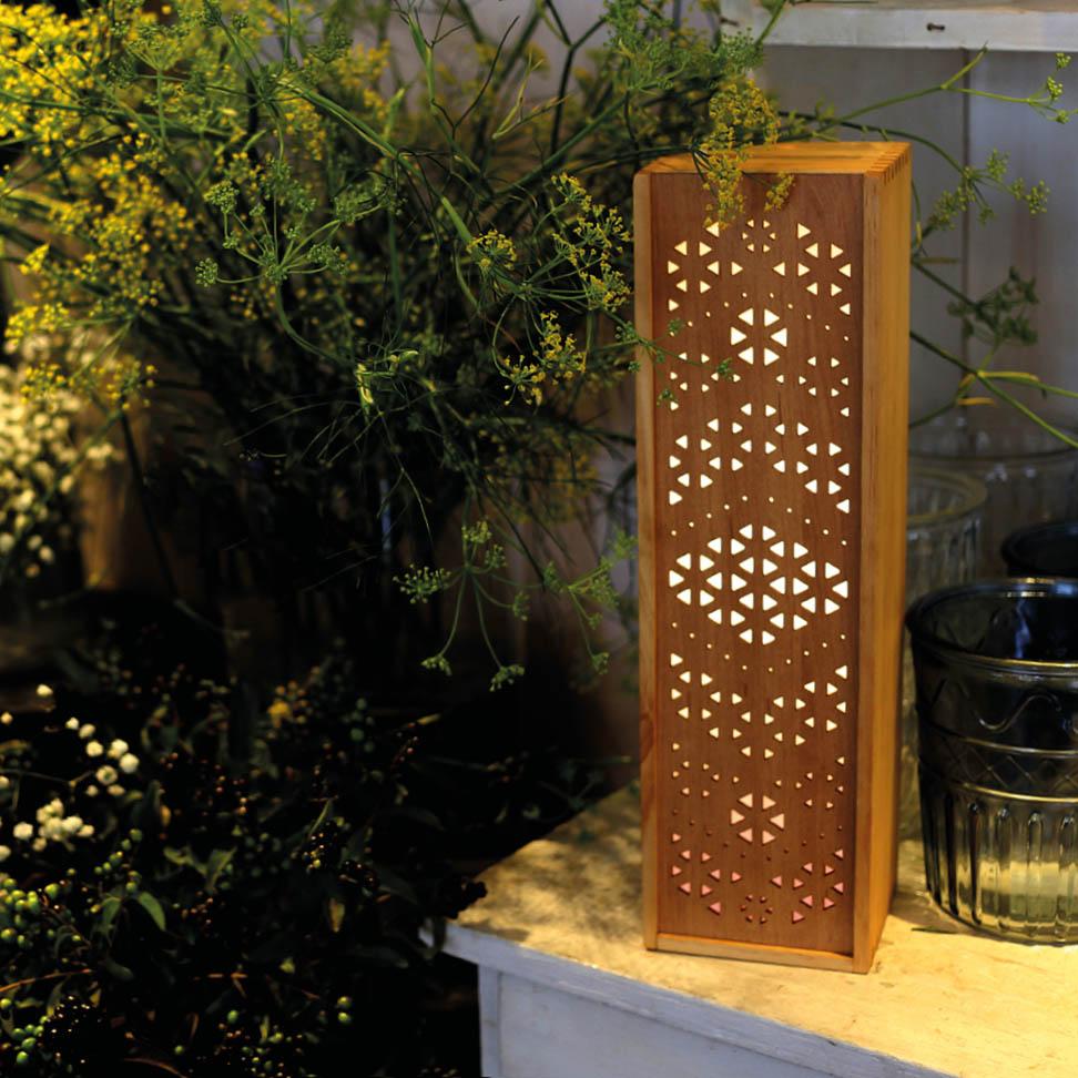 Leuchte Leuchtkasten Design Grafik orientalisch blumen