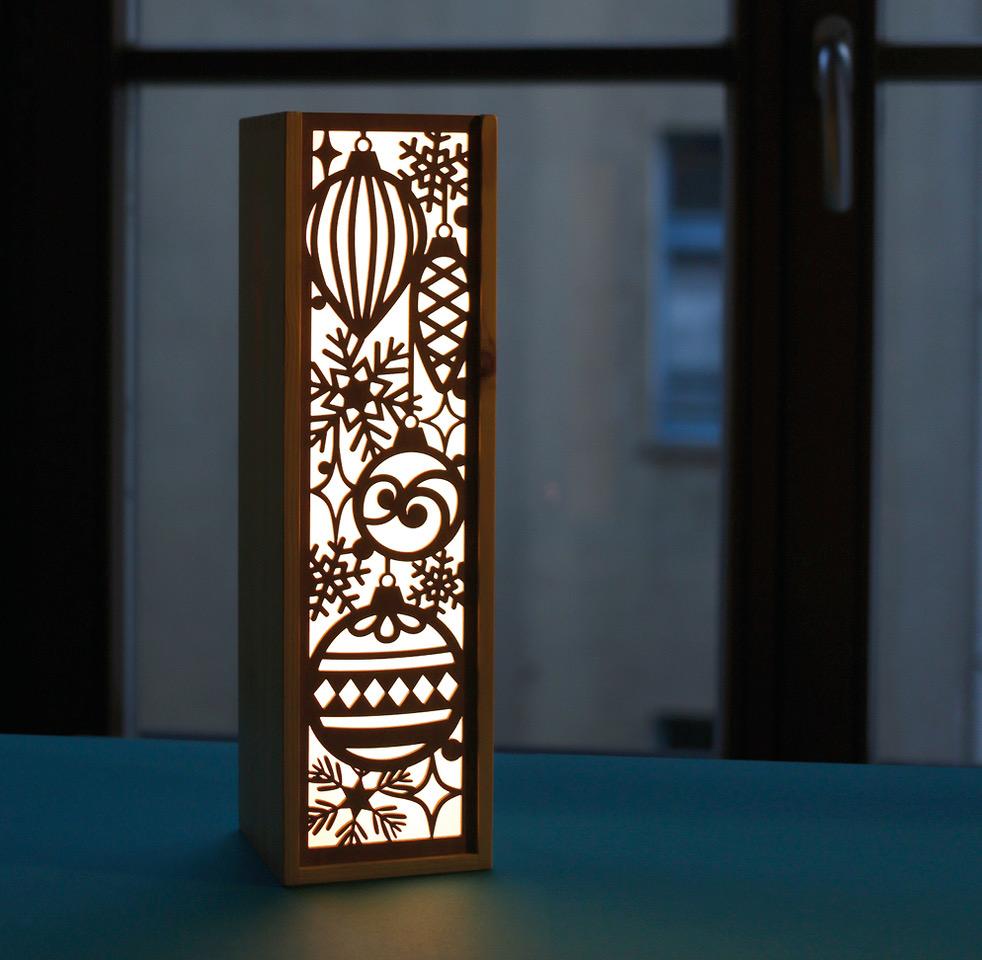 Leuchte Leuchtkasten Design Grafik wein feiern
